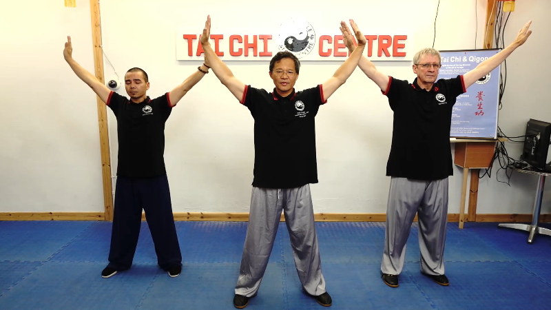 Qigong Foundation;Corrections;Demonstration;Warm Up;Following Me